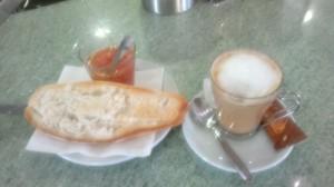 Frukost i Andalucien